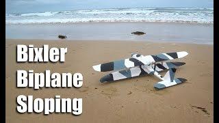 Bixler Biplane Sloping
