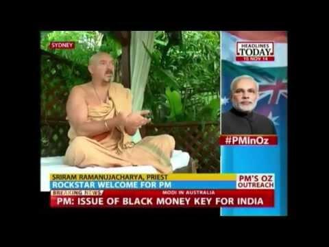 Australian priest chants 'NaMo' for Narendra Modi