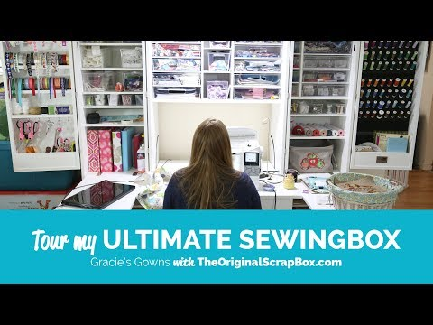 Tour of Ultimate SewingBox by Gracie's Gowns