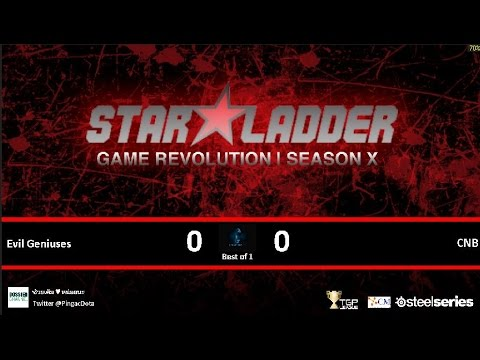 Dota2 - Evil Geniuses vs CNB [SLTVX] Caster Pingac