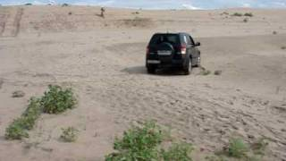 Suzuki Grand Vitara off road Volga part 1