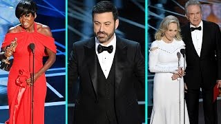 The Best Worst and Weirdest Moments of the 2017 Oscars