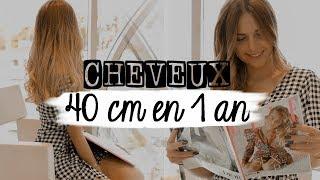 👩🏼 MA POUSSE DE CHEVEUX   +40 CM EN 1 AN !