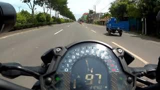 """Pha """"XỬ LÝ"""" thần thánh khi bắt gặp CSGT của thanh niên cứng nài Kawasaki Z900"""