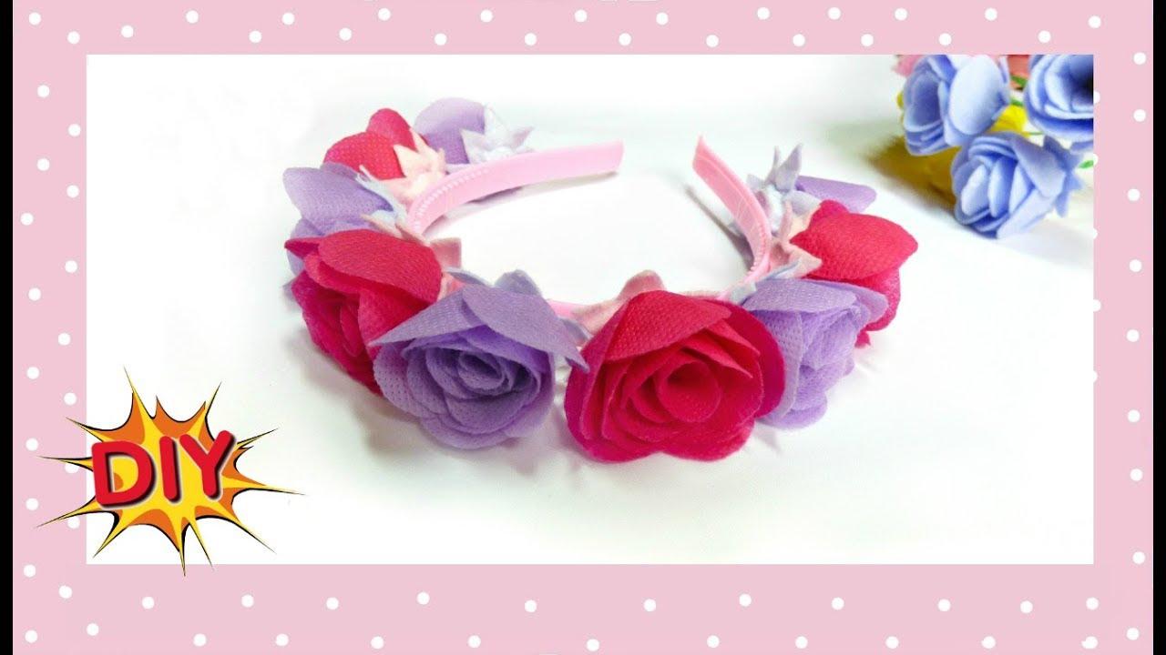 Как сделать цветы из ткани: мастер класс 96
