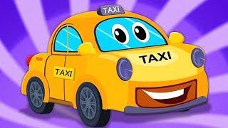 taxi cho trẻ em | rửa xe | video giáo dục | Kids Video | Taxi Car Wash