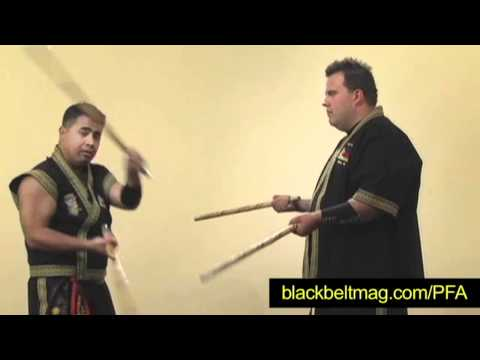 Julius Melegrito: Training Drill for Two Filipino Fighting Sticks Image 1