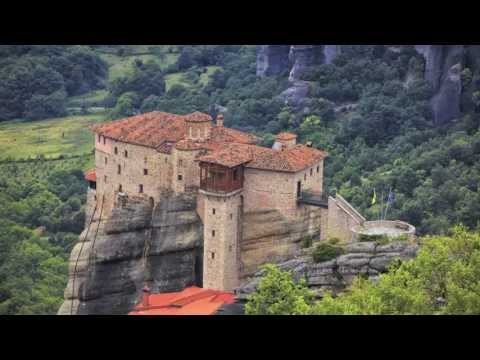 Meteora Holy Trinity - Greece - UNESCO world Heritage Site
