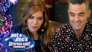 Robbie Williams & Ayda Field's 'Get Out Of Me Ear!' Prank With Ant & Dec