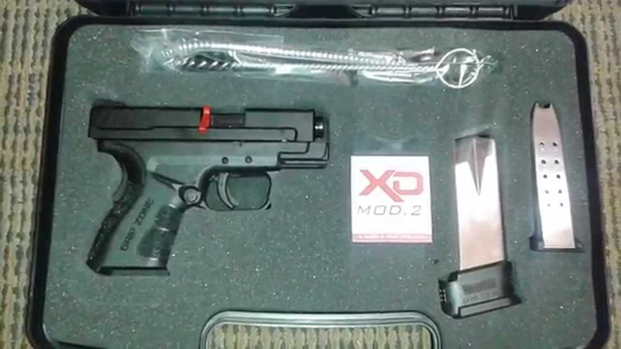 Springfield xd Mod 2 Subcompact 9mm Springfield xd Subcompact 9mm