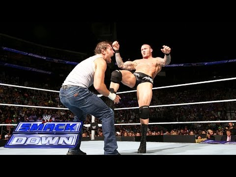 Dean Ambrose Vs. Randy Orton: Smackdown, July 4, 2014 video