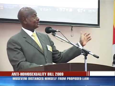 Museveni distances self from Gay Bill