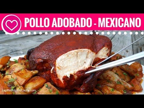 POLLO AL HORNO CON PAPAS Y CEBOLLA - ADOBADO - OVEN ROASTED CHICKEN WITH POTATOES thumbnail