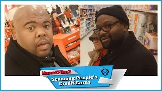 Scanning People's Credit Cards Prank