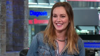 Leighton Meester Full Interview on VH1 Big Morning Buzz 10/17/14 [HD]