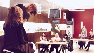 ACADEMY LAB PETRA MĚCHUROVÁ - Master Class Seminar for IGORANCE COIFFURE LUXEMBOURG