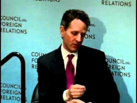 C. Peter McColough Series on International Economics: A Conversation with Timothy F. Geithner