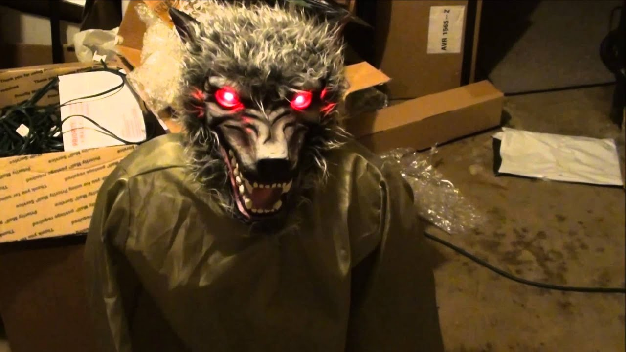 Halloween Werewolf Props