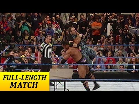 FULL-LENGTH MATCH - SmackDown - The Rock vs. Dudley Boyz - Tables...