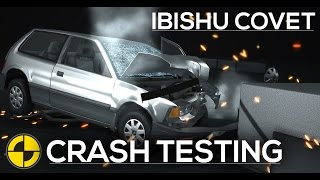 Ibishu Covet IIHS/EuroNCAP Crash Testing - Frontal & Roof  [HD]
