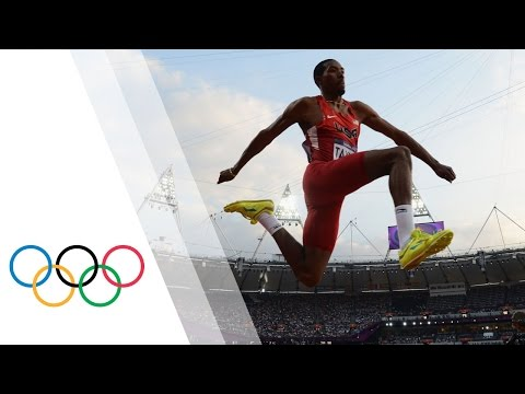 Christian Taylor Win's Men's Triple Jump Gold - London 2012 Olympics