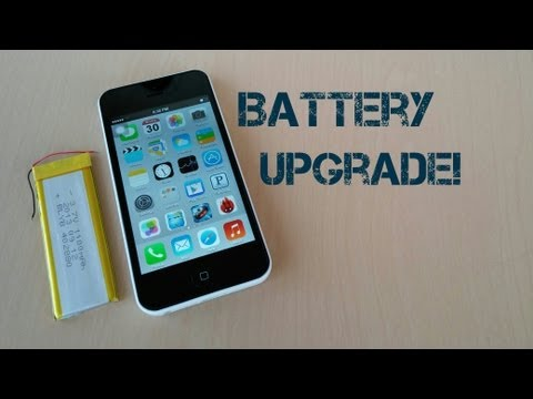 Goophone i5C MTK6572 - Battery Upgrade!