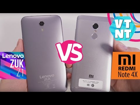 Xiaomi Redmi Note 4x vs Lenovo Zuk Z1 какой смартфон купить?