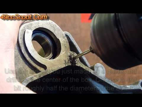 Removing A Broken Bolt Or Stud With A Bolt Extractor