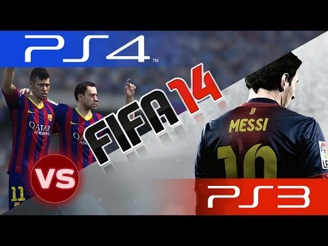 [TTB] FIFA 14 Next Gen Vs Current Gen - FIFA 14 PS4 Vs FIFA 14 PS3