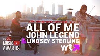 John Legend - All Of Me    LYRICS On SCREEN