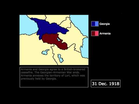 [Wars] The Georgian-Armenian War (1918): Every Day