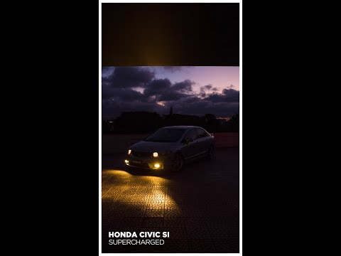 HONDA CIVIC SI SUPERCHARGER