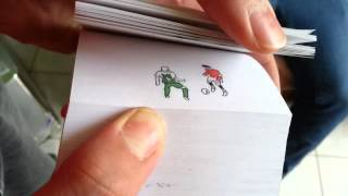 Cristiano Ronaldo - Flipbook Animation