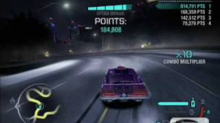 NFS Carbon drift record!!