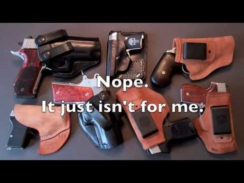 Concealed Carry: Guns, Holsters, Questions, & Answers. | How To Save ...