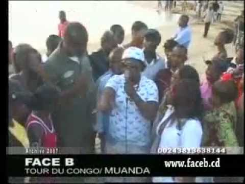 Paulin Mukendi dans: FACE B tour du congo MUANDA