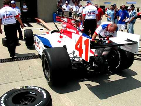 2010 Indianapolis 500 Bump Day - Jaques Lazier Video