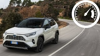 Toyota RAV4 2.5l Hybrid 2019 acceleration: 0-60 mph, 0-100 km/h, up to max speed :: [1001cars]