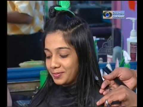 Indian women haircut