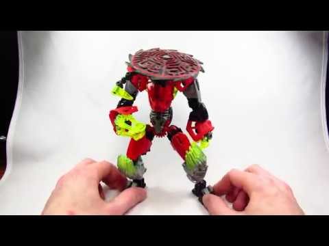 Bionicle MOC Review: Incendia the Living Inferno