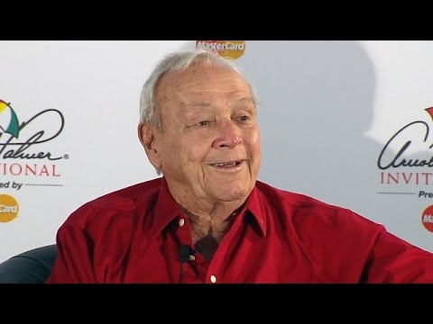 Arnold Palmer comments on Tiger Woods before Arnold Palmer Invitational