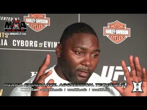 Anthony Johnson Explains Retirement, Why He Likes Marijuana, Who Wins Cormier vs Jones 2 + More!