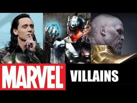 Marvel Cinematic Universe VILLAINS : Ultron, Thanos, Loki - Beyond The Trailer