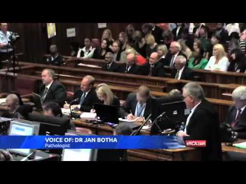 Pistorius Trial: Defence's pathalogist describes Reeva's injuries