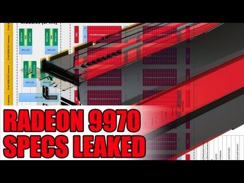 AMD Radeon HD 9970 Specs Leaked - 4096 Stream Processors - Radeon 8000 Series Skipped For Desktop