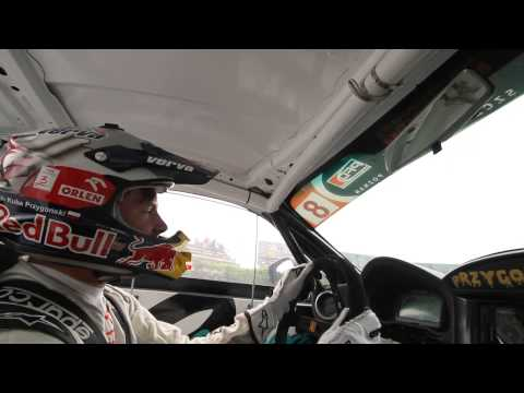 Toyota GT86 Przygonski first run in Riga EEDC 2013 onboard