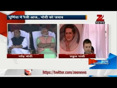 General Elections 2014: Modi To Rally In Bihar, Rahul To Visit Rajasthan video