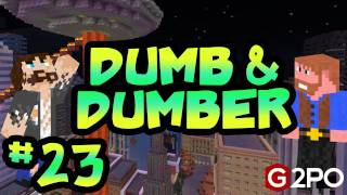 Dumb and Dumber on Minecraft - Mayan Temple Ep.23 | 2012 Apocalypse