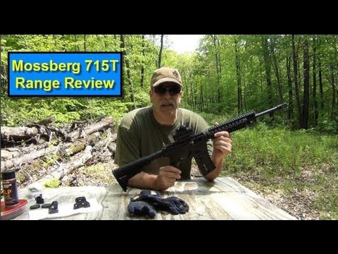 Mossberg 715T range review and shoot