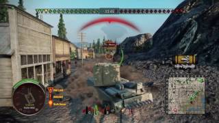 World of tanks PS4 FV4005 stage II (shitbarn) compilation